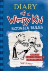 Rodrick Rules (Diary of a Wimpy Kid, Book 2) (Edition unknown) by Kinney, Jeff [Hardcover(2008£©] - aa