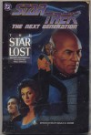 The Star Lost (Star Trek: The Next Generation) - Michael Jan Friedman, Peter Krause, Pablo Marcos, Bob Pinaha