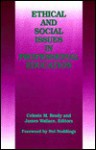 Ethical and Social Issues in Professional Education - Celeste M. Brody, James Wallace