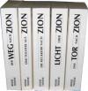 Die Zion-Chroniken. Band 1: Der Weg nach Zion, Band 2: Eine Tochter aus Zion, Band 3: Die Rückkehr nach Zion, Band 4: Licht über Zion, Band 5: Das Tor nach Zion, 5 Bde - Leer