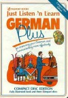 Just Listen 'n Learn German Plus [With Paperback] - Listen 'N' Learn