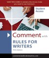 Comment for Rules for Writers - Diana Hacker, Walter Creed