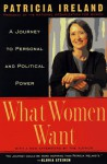What Women Want: A Journey to Personal and Political Power - Patricia Ireland