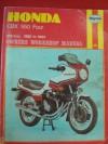 Haynes Honda Cbx550 Fours Owners' Workshop Manual: 1982-1984 - Pete Shoemark