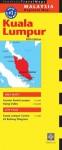 Kuala Lumpur Travel Map Fifth Edition - Periplus Editors, Periplus Editors