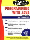 Programming with Java (Schaum's Outlines) - John R. Hubbard