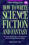 How to Write Science Fiction and Fantasy - Orson Scott Card