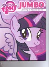 My Little Pony Jumbo Coloring & Activity Book ~ Twilight Sparkle on Purple (96 Pages) - Hasbro