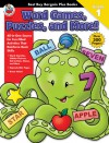 Word Games, Puzzles, and More!, Grade 1 - Frank Schaffer Publications, Frank Schaffer Publications