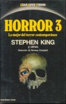 Horror 3: lo mejor del terror contemporáneo - Ramsey Campbell, Stephen King