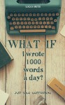What if I wrote 1000 words a day (Just some Motivation) - Logan Smith