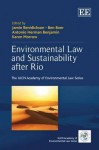Environmental Law and Sustainability After Rio - Jamie Benidickson