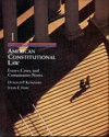 American Constitutional Law, Volume I: Cases, Essays, and Comparative Notes - Donald P. Kommers, John E. Finn