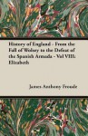 History of England - From the Fall of Wolsey to the Defeat of the Spanish Armada - Vol VIII: Elizabeth - J.A. Froude