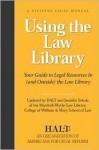 Using the Law Library - HALT Staff, Jennifer Sekula