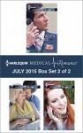 Harlequin Medical Romance July 2015 - Box Set 2 of 2: Her Playboy's SecretTaming Her Navy DocHer Family for Keeps - Tina Beckett, Amy Ruttan, Molly Evans