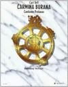 Carmina Burana: Vocal Score - Hal Leonard Publishing Company