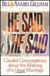 He Said, She Said: Building the Bridges of Communication in Marriage - Bill Gillham