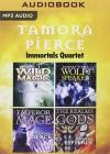 Tamora Pierce - Immortals Quartet: Wild Magic, Wolf-Speaker, Emperor Mage, The Realms of the Gods (The Immortals) - Tamora Pierce, Tamora Pierce, The Full Cast Family