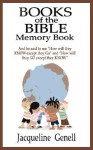 Books of the Bible Memory Book - Jacqueline Genell