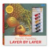 Acrylic Painting Layer by Layer: Tropical Delight Kit - Mia Tavonatti
