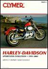 Clymer Harley-Davidson Sportster Evolution 1991-2002 (Clymer Motorcycle Repair) - Clymer Publications