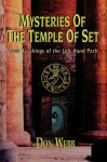 Mysteries Of The Temple Of Set - Don Webb