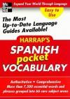 Harrap's Spanish Pocket Vocabulary - Harrap's Publishing
