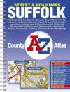 Street & Road Maps, Suffolk: Aldeburgh, Beccles ... Wickham Market, Woodbridge: New County A Z Atlas - Great Britain