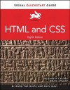 HTML and CSS: Visual QuickStart Guide (8th Edition) (Visual Quickstart Guides) - Elizabeth Castro, Bruce Hyslop