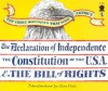 The Declaration of Independence the Constitution of the United States and the Bill of Rights - Sam Fink
