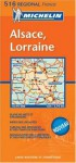 Michelin France Alsace, Lorraine (Michelin Local France Maps) (Multilingual Edition) - Michelin Travel Publications