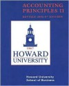 (WCS)Accounting Principles II for Howard University Revised 2006-07 Edition - Paul D. Kimmel, J. Edward Ketz