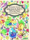 Dinosaur Party Giftwrap Paper - Christopher Santoro