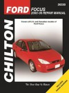 Ford Focus: 2000 through 2005 (Chilton's Total Car Care Repair Manuals) - Jay Storer