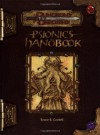Psionics Handbook (Dungeons & Dragons d20 3.0 Fantasy Roleplaying) - Bruce R. Cordell