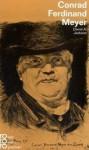 Conrad Ferdinand Meyer In Selbstzeugnissen Und Bilddokumenten - David A. Jackson