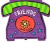 Friends Phone Shaped - Havoc Publishing