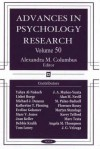 Advances in Psychology Research, Volume 50 - Alexandra M. Columbus