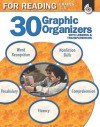 30 Graphic Organizers for Reading, Grades 3-5 [With Transparencies] - Christi E. Parker