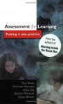 Assessment For Learning: Putting It into Practice - Paul Black