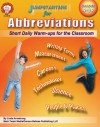 Jumpstarters for Abbreviations, Grades 4 - 8 - Linda Armstrong