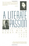 A Literate Passion: Letters of Anais Nin & Henry Miller, 1932-1953 - Anaïs Nin, Henry Miller