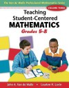 Single User E-Book DVD for Teaching Student-Centered Mathematics Grades 5-8 - John A. Van de Walle, Lou Ann H. Lovin