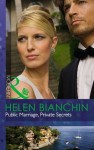 Public Marriage, Private Secrets (Mills & Boon Modern) - Helen Bianchin