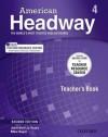American Headway 4 Teacher's Book & Test - Joan Soars, Liz Soars