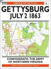 Gettysburg July 2 1863: Confederate: The Army of Northern Virginia (Order of Battle) - James Arnold, Roberta Wiener