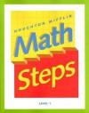 Houghton Mifflin Math Steps: Level 1 - Houghton Mifflin Company