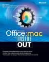 Microsoft® Office v. X for Mac Inside Out - Tom Negrino, Kirk McElhearn, Kate Binder, Kirk Elhearn