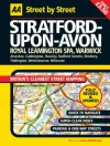 AA Street by Street: Stratford-Upon-Avon: Royal Leamington Spa, Warwick - A.A. Publishing, A.A. Publishing